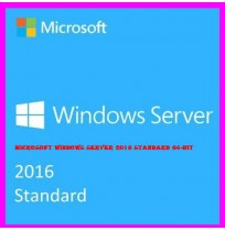 Microsoft Windows Server 2016 Standard 64-Bit