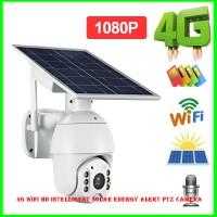 4G WIFI HD Intelligent Solar Energy Alert PTZ Camera