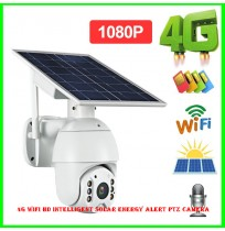 4G WIFI HD Intelligent Solar Energy Alert PTZ Camera