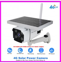 Watchmen Low Power Solar 4G IP Smart Camera