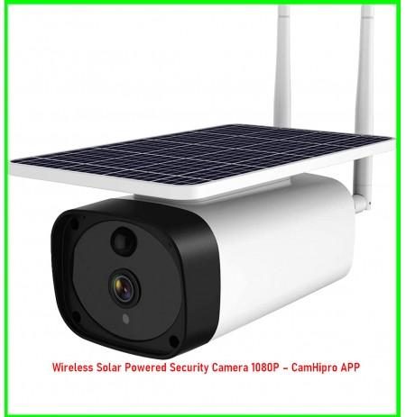 Wireless Solar Powered Security Camera 1080P – CamHipro APP