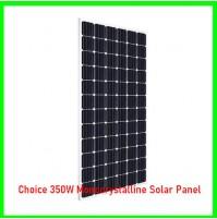 Choice 350W Monocrystalline Solar Panel