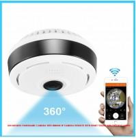 360 Degree Panoramic Camera Wifi Indoor Ip Camera Fisheye With Night Vision and two way audio