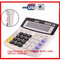 Calculator Spy Camera with 16gb inbuilt memory