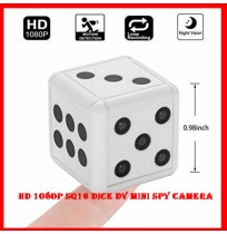HD 1080P SQ16 Dice DV Mini Spy Camera