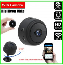 Mini Spy Wireless HD 1080p IR Camera