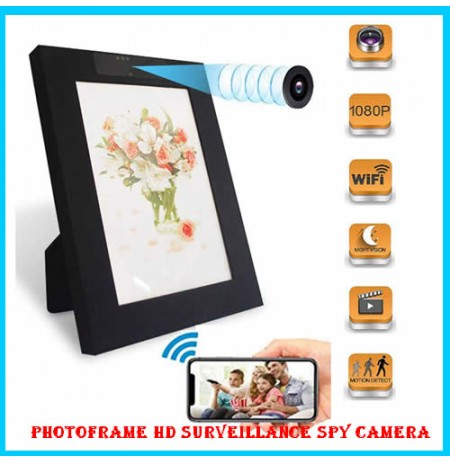 PhotoFrame HD Surveillance Spy Camera