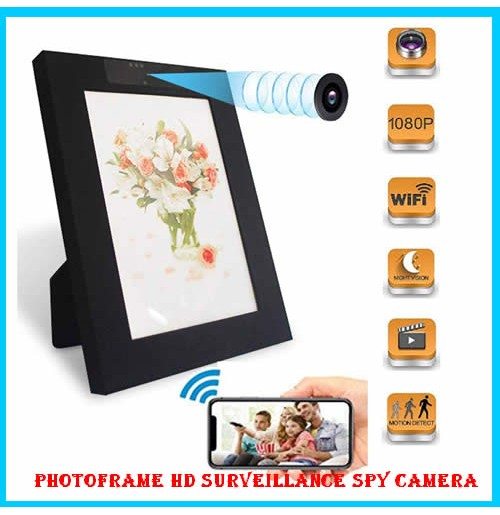 PhotoFrame HD Surveillance Spy Camera