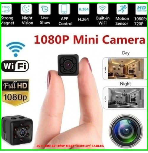 SQ11 Mini HD 1080P Night Vision Spy Camera