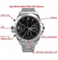 Spy Wrist Watch With HD Camera