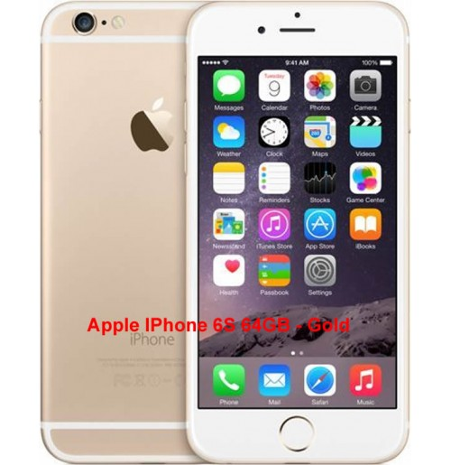 Apple IPhone 6S 64GB - Gold(UK USED)