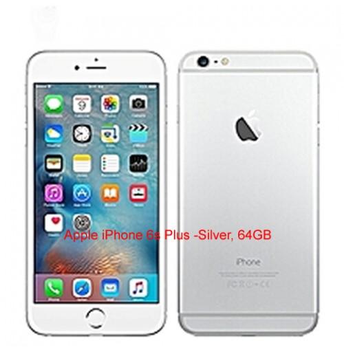Apple iPhone 6s Plus -Silver, 64GB(UK USED)