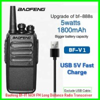 Baofeng Bf-V1 16CH FM Long Distance Radio Transceiver Walkie Talkie