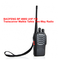 BAOFENG BF-888S UHF FM Transceiver Walkie Talkie Two-Way Radio