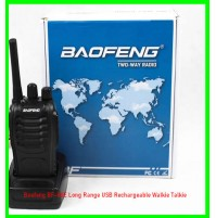 Baofeng BF-88E Long Range USB Rechargeable Walkie Talkie