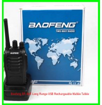 Baofeng BF-88E Long Range USB Rechargeable Walkie Talkie