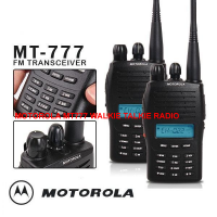Motorola MT-777 Two Way Radio Walkie Talkie