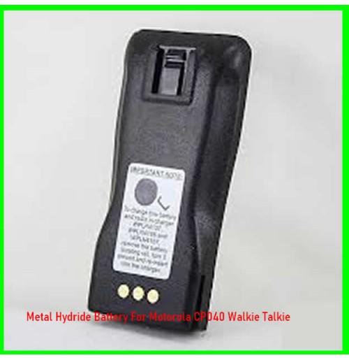 Metal Hydride Battery For Motorola CP040 Walkie Talkie