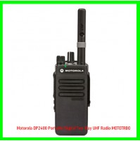 Motorola DP2400 Portable Digital Two Way UHF Radio MOTOTRBO