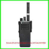 Motorola DP4401 Portable Digital Two Way UHF Radio MOTOTRBO