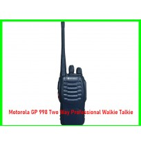 Motorola GP 998 Two Way Professional Walkie Talkie