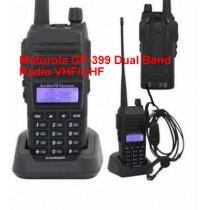 Motorola GP 399 Dual Band Radio VHF-UHF