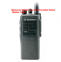 Motorola GP340 Two-Way Portable Radio Walkie Talkie