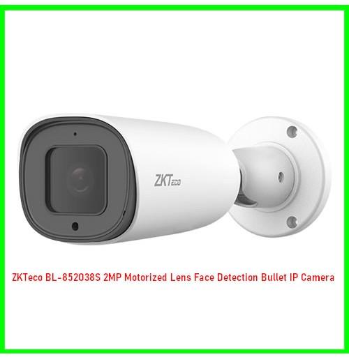 ZKTeco BL-852O38S 2MP Motorized Lens Face Detection Bullet IP Camera