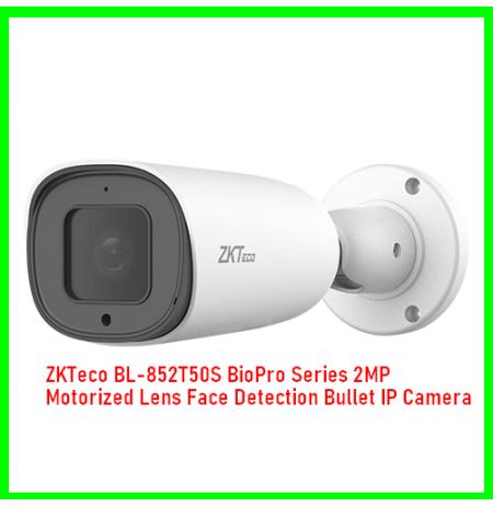 ZKTeco BL-852T50S BioPro Series 2MP Motorized Lens Face Detection Bullet IP Camera