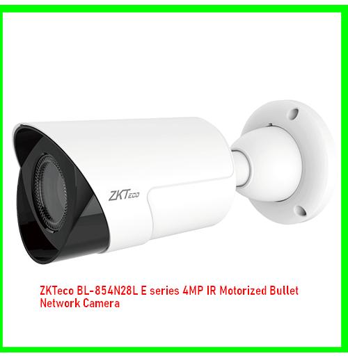 ZKTeco BL-854N28L E series 4MP IR Motorized Bullet Network Camera