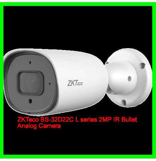 ZKTeco BS-32D22C L series 2MP IR Bullet Analog Camera